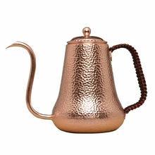 Молотый кофейный чайник из чистой красной меди высшего качества