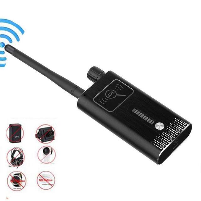 Anti SPY Detector Devic Dual Module Bug Camera GPS Radio RF Signal Finder Wireless Tracker Gsm SIM Card Scanner Built in battery