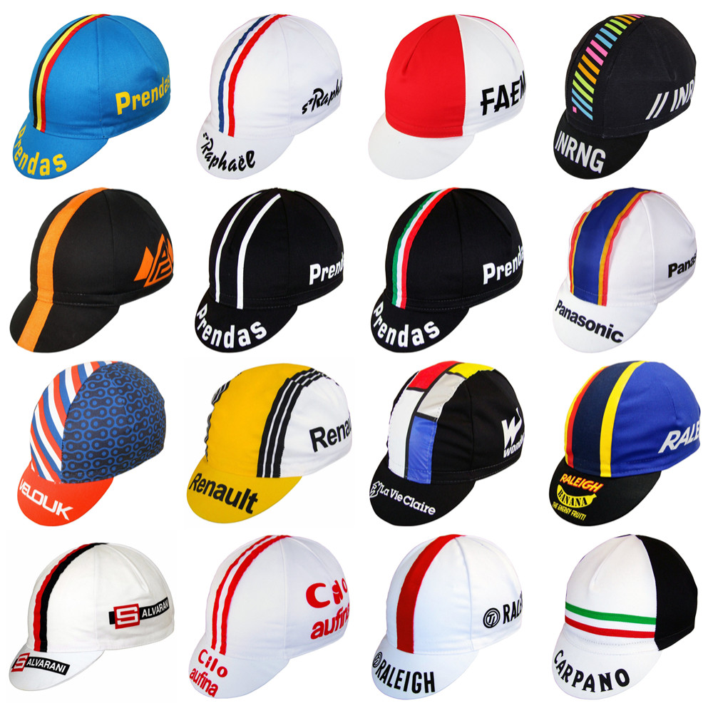 More Style 2019 New Cycling Cap Men And Women Bike Wear Retro Cotton Cap Lightweight Quick Dry Bicycle Hat Cycling Headwear