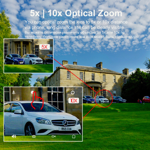 Image 3 - Outdoor Waterproof 4G SIM Card IP Camera 10x Zoom MIFI Video Surveillance Audio Micro SD Card PTZ