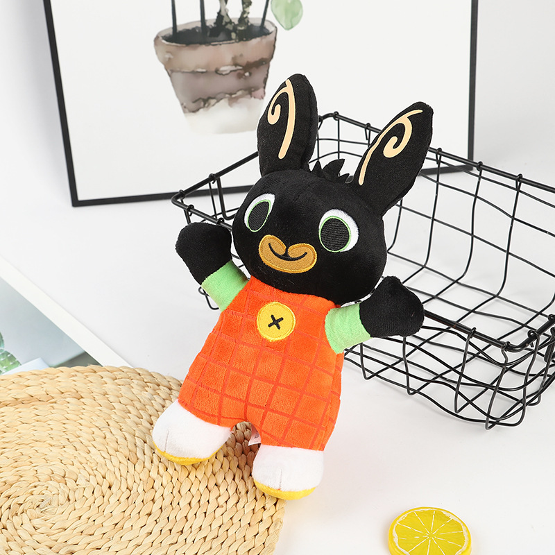 17 27cm New Bing Bunny Soldier Plush Toy Doll Plush Toy Pendant Clipper Doll Toy Filled Animal Bunny Toy Christmas Gift WJ076 in Movies TV from Toys Hobbies