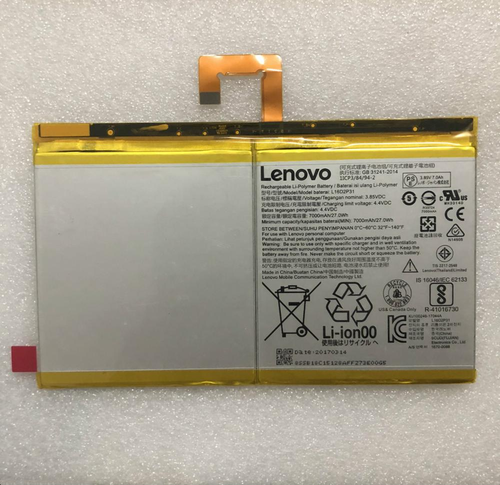 3.85V 7000mAh Tablet Lithium Battery L16D2P31 For LENOVO TAB 4 10 PLUS TB-X704F  Battery