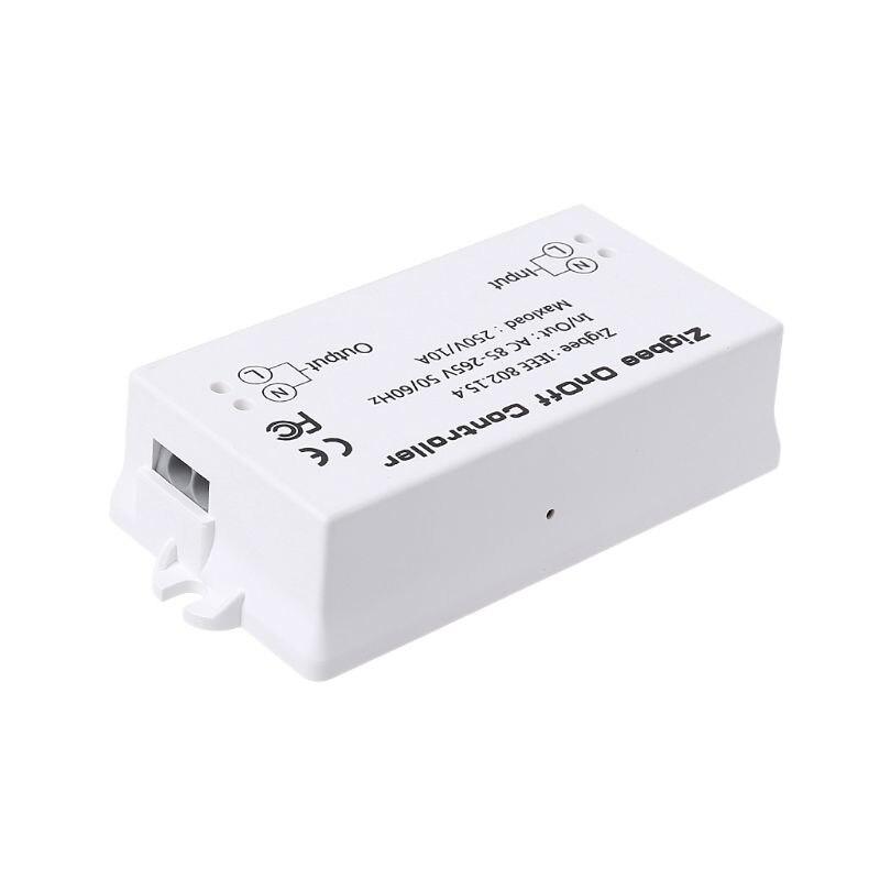 Zigbee On/Off Управление; Смарт-коммутатор приложение дистанционного Управление Умный дом модуль AC85-265V 10A