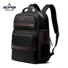 BOPAI أكسفورد السفر المحمول الرجال على ظهره حقيبة الأعمال الموضة الذكور مكتب العمل الخلفي حزمة حقائب كبيرة حقيبة المدرسة للذكور
