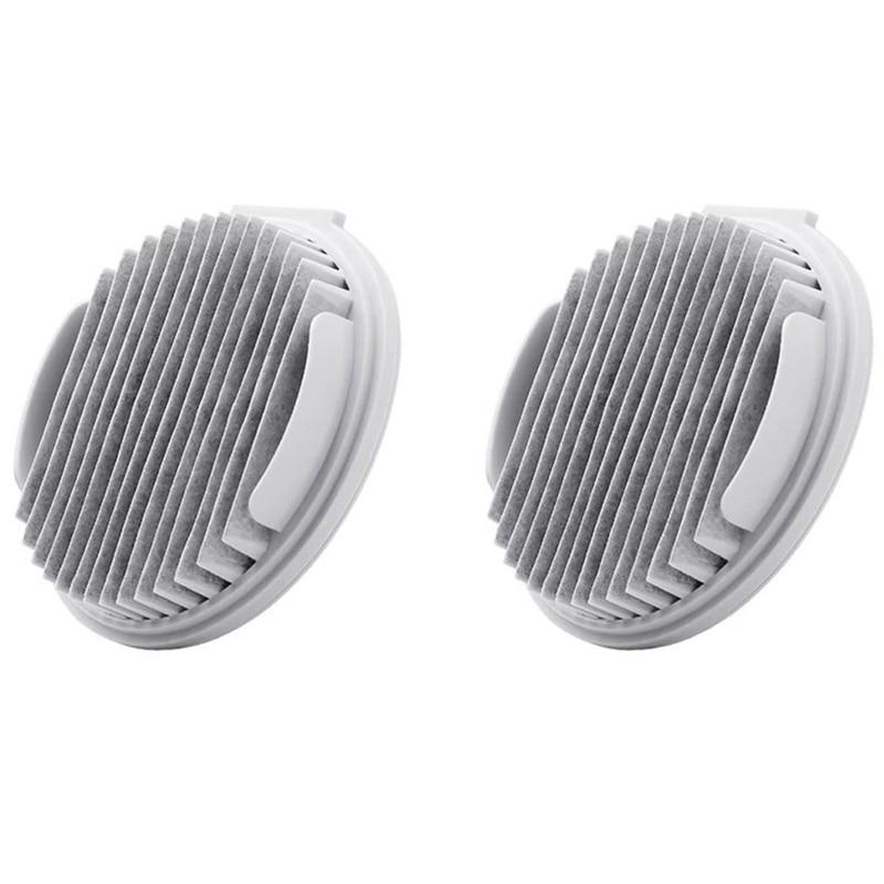 2Pcs Vacuum Cleaner Filters For Xiaomi Roidmi Wireless F8 Smart Handheld Vacuum Cleaner Accessories