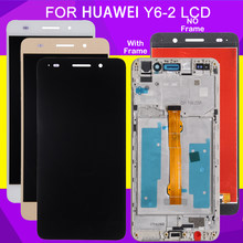 Hh Y6 Ii 2 Display Voor Huawei Honor 5A Display Touch Screen Digitizer Sensor Panel Assembly CAM-L21 Lcd-scherm 1 stuks Gratis Schip(China)