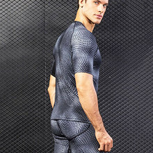 Clothing T-Shirts Jersey Rashguard Fitness-Tops Gym Compression Workout Quick-Dry Breathable