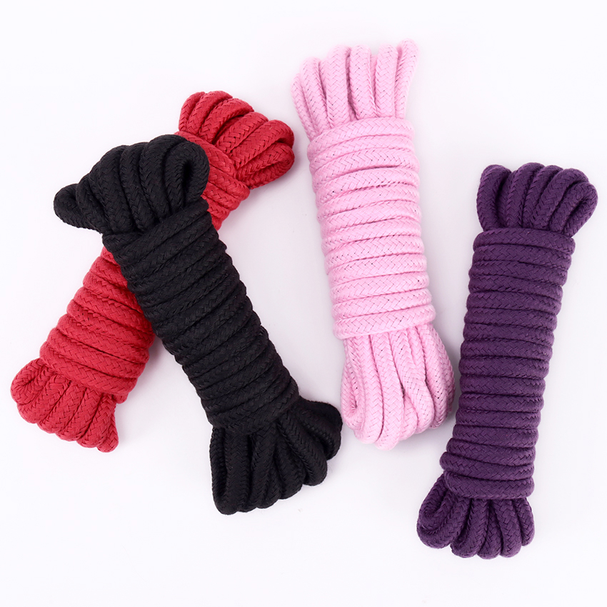 Erotic Slave Bondage Rope Restraint Cotton For Suitable For Couple Lover Sexual Partners Sex SM Game Products Adults Toys 1PC