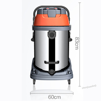 3500W wet& dry dual purpose vacuum cleaner multi filter industrial dust collector commercial high power dust collector 220V