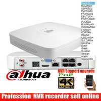 Original dahua mutil sprache 4ch poe NVR4104-P-4KS2 4K H.265 Mini NVR 4 POE Ports netzwerk video recorder DH-NVR4104-P-4KS2