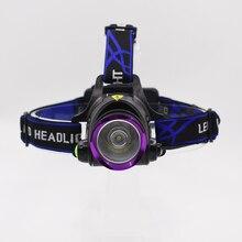 90 Degree Adjustable Head Lantern Headlamp 3 Modes T6 Bead with 18650 Battery Led Light Headlight