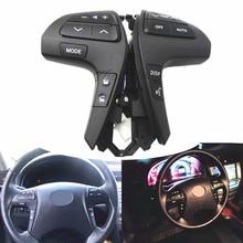 Interruptor de botón de Control de Audio para volante de coche, interruptor de Audio para TOYOTA HILUX VIGO COROLLA CAMRY HIGHLANDER INNOVA