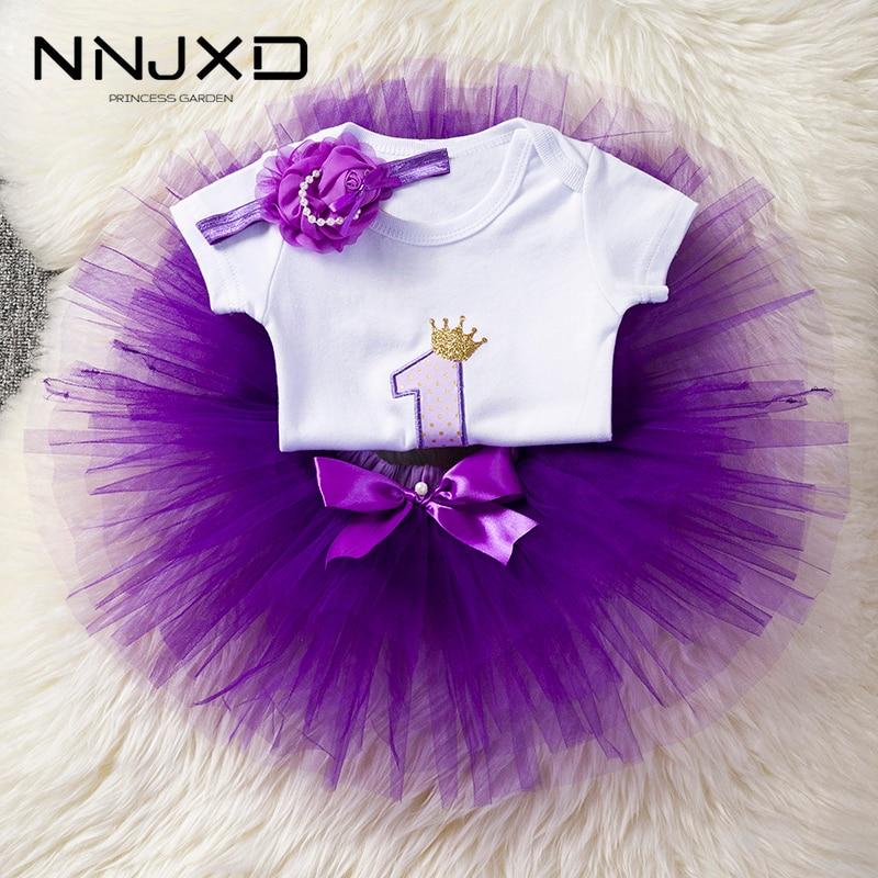Повязка на голову с цветочным принтом, топ с короткими рукавами и платье-пачка, наряды 3 предмета, для 1 года, для маленьких девочек, для перво...