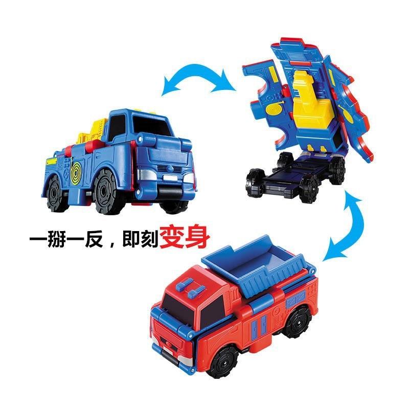 Anti-anti-car Toy Deformed Into A Fleet of Children's Manual Boy Engineering Vehicle Pocket Truck Police Car