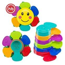 Набор игрушек для ванной Happy Baby FLOWER PUZZLE