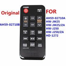 AH59 02710B Mới Ban Đầu Từ Xa Cho AH59 02710A Cho Samsung Hệ Thống Rạp Hát Tại Gia Soundbar HW J250 HW J250/ZA HW JM25 HW JM25/ZA