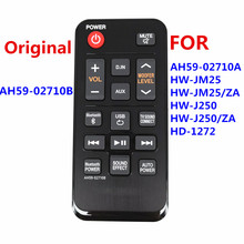 AH59 02710B New Original Remote For AH59 02710A For Samsung Home Theater System Soundbar HW J250 HW J250/ZA HW JM25 HW JM25/ZA