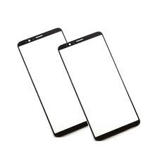 цена на 100% Tested High quality For OPPO R11 r11 Touch Screen Outer LCD Front Panel Screen Glass