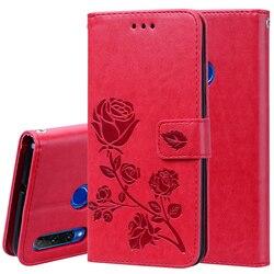 На Алиэкспресс купить чехол для смартфона rose leather wallet case for huawei honor 9a 9c 20 10i 10 9 lite 8a 8s 8c 8x p20 p30 p40 pro y9 y7 y5 y6 2019 flip cover holder