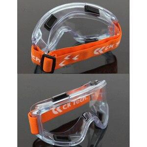 Image 5 - CK טק. בטיחות משקפי מגן שקוף נגד השפעה טקטי משקפיים רכיבה אופניים אנטי ערפל משקפיים מגן עבודה עיניים הגנה