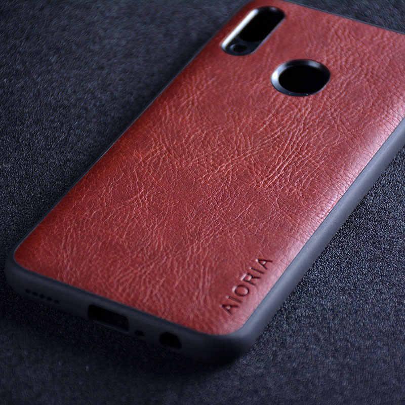Ốp lưng cho Huawei Honor 10 Lite funda sang trọng Da Vintage da capa với Khe Cắm điện thoại dành cho Huawei Honor 10 Lite Ốp lưng coque