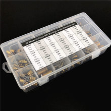 18 값 Nichicon FW/FG HiFi DIY 고급 오디오 커패시터 모듬 된 키트 상자 구색 6.3V ~ 100V, 10 미크로포맷 ~ 3300 미크로포맷 총 241pcs