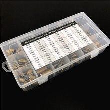 18 valores Nichicon FW/FG HiFi DIY alto grado condensador de Audio surtido de caja de kit surtido 6,3 V ~ 100V, 10uF ~ 3300uF total 241 uds