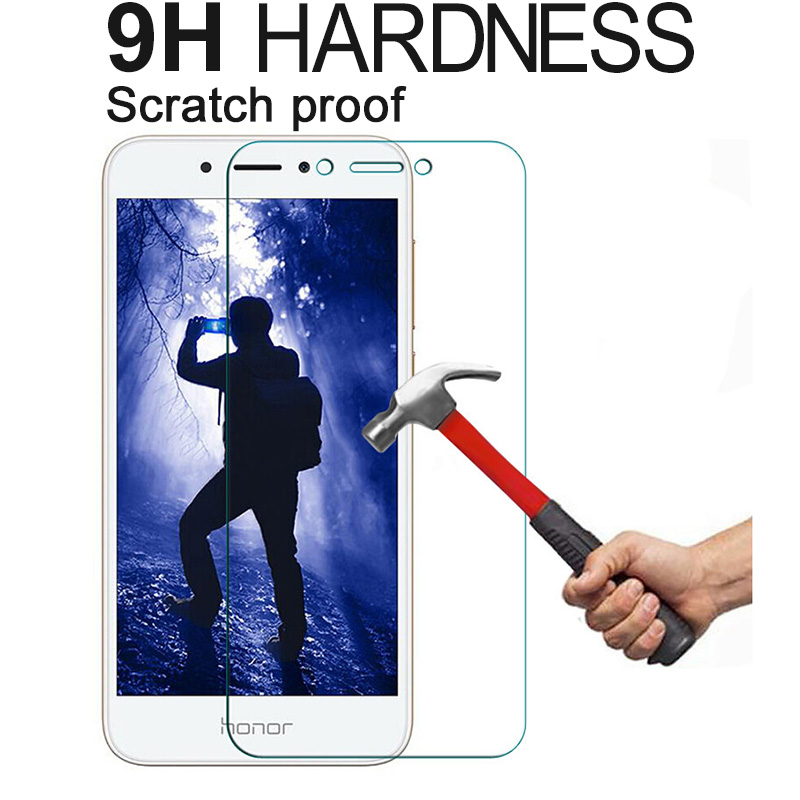 Protective Tempered Glass For Xiaomi Mi A1 A2 5X 6X 8 Lite 9 SE Mix 2 2S 3 Play Pocophone F1 Redmi 7 Go Screen Protector Film