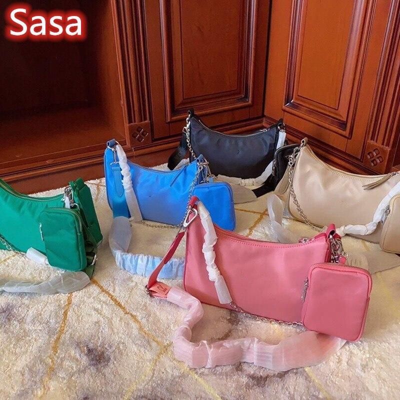 Sasa Luxury Brand Bag Nylon Bag For Lady Girl
