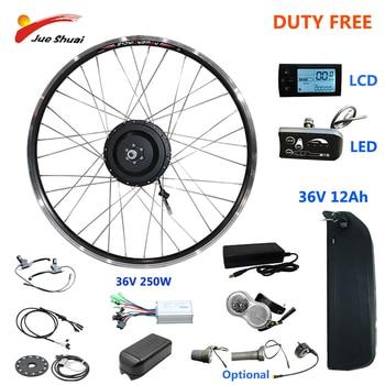 Kit de conversión de bicicleta eléctrica, con batería de litio de 12A,...