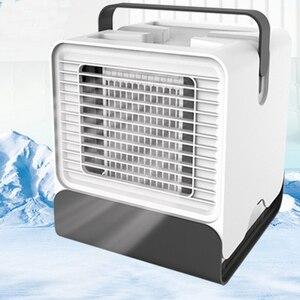 Image 2 - HAVA SOĞUTUCU Fan klima nemlendirici soğutma fanı Mini USB taşınabilir masa masa Dropshipping 10 15 gün gelmesi abd ab FA