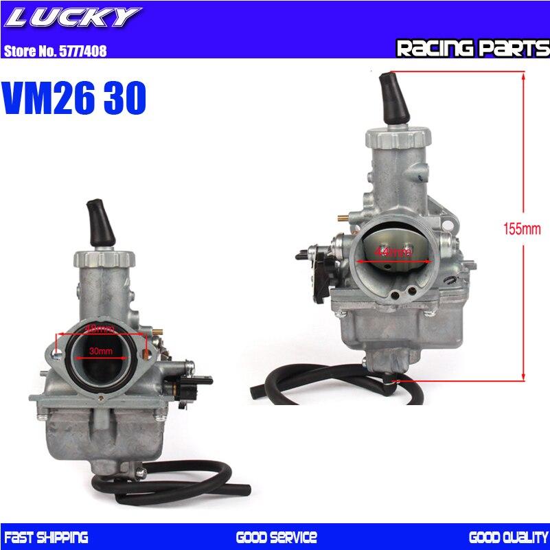 Карбюратор Mikuni vm26 30 мм, мотоциклетный карбюратор vm26 Carb PZ30 30 мм для 150cc 160cc 200cc 250cc