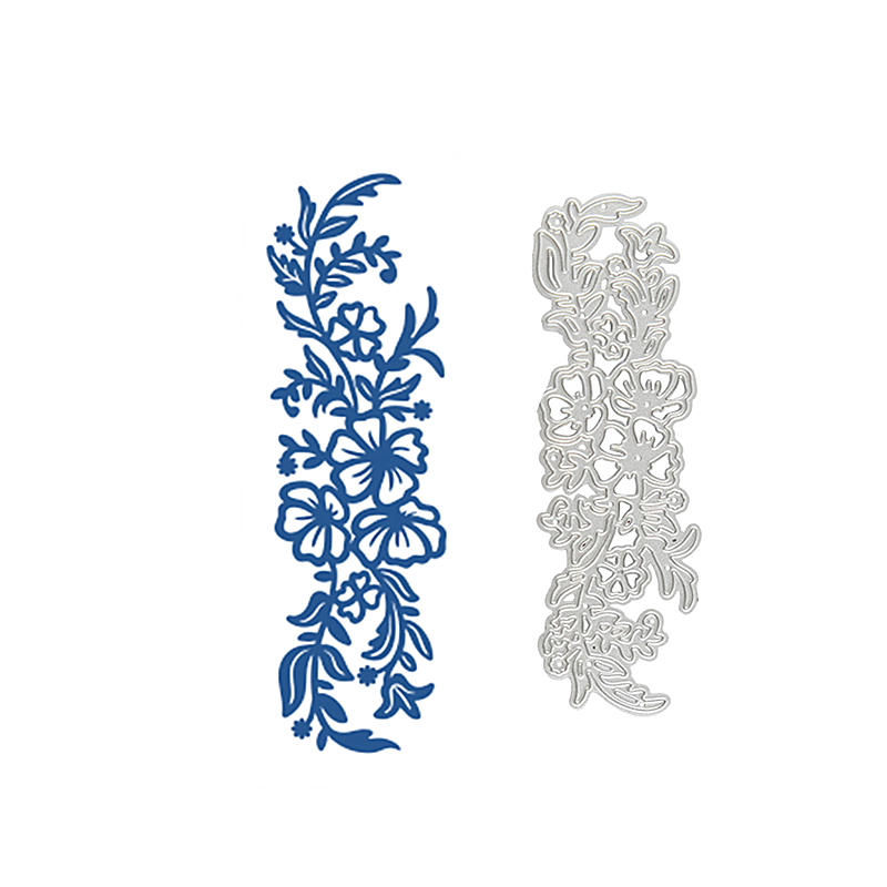 InLoveArts Flower Border Metal Cutting Dies Floral Branch Frame DIY New 2019 Scrapbooking for Card Making Embossing Stencil