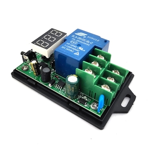 Image 5 - DC voltage detection and control relay 6 80V/48V60V battery charging and discharging timing /30A on off switch
