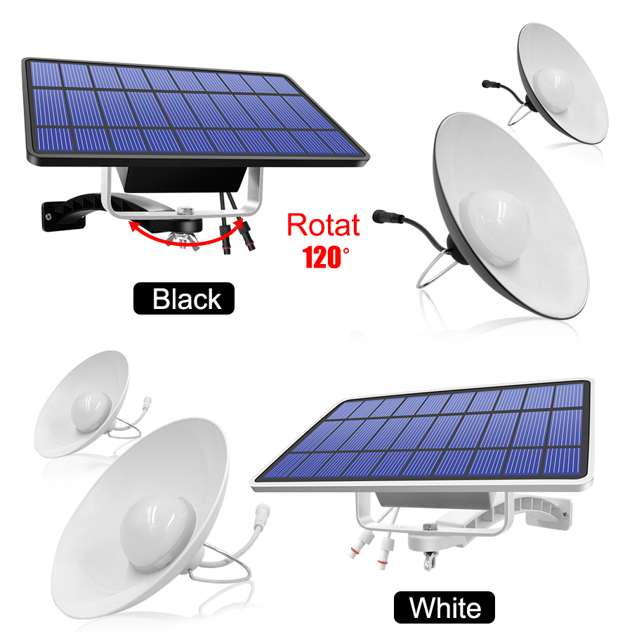 Single and Double Head Solar Pendant Light for Outdoor and Indoor With White and Warm White Lighting 7