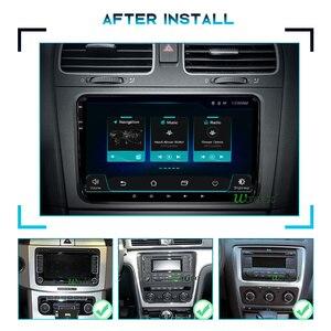 Image 2 - CAR Radio 2 din Android 10 stereo for Volkswagen VW PASSAT B6 B7 Golf 5 6 BORA Fabia Rapid Seat Leon Altea 2din auto audio FR