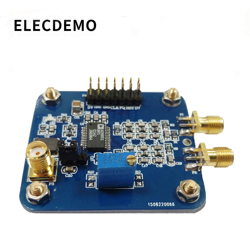 AD9851 Module Provide STM32 source code with AD9850 Streamlined DDS Function Signal Generator demo board