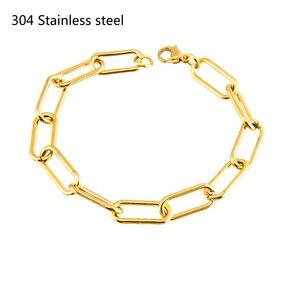 2019 oval cable bracelets for women brac