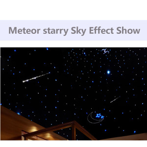 Image 5 - 5W Shooting Stars Fiber Optic Light Source RF Remote Meteor starry sky Effect White Lighting LED Engine Driver