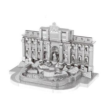Architecture 3D Metal Puzzles World  7