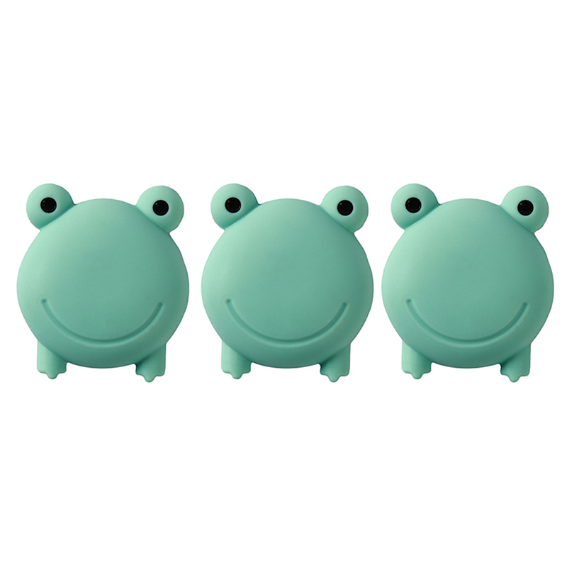 3PCS/Set Wall Protector Savor Cartoon Animal Door Stopper Doorknob Shockproof Crash Pad Stop PP Door Handle Stopper