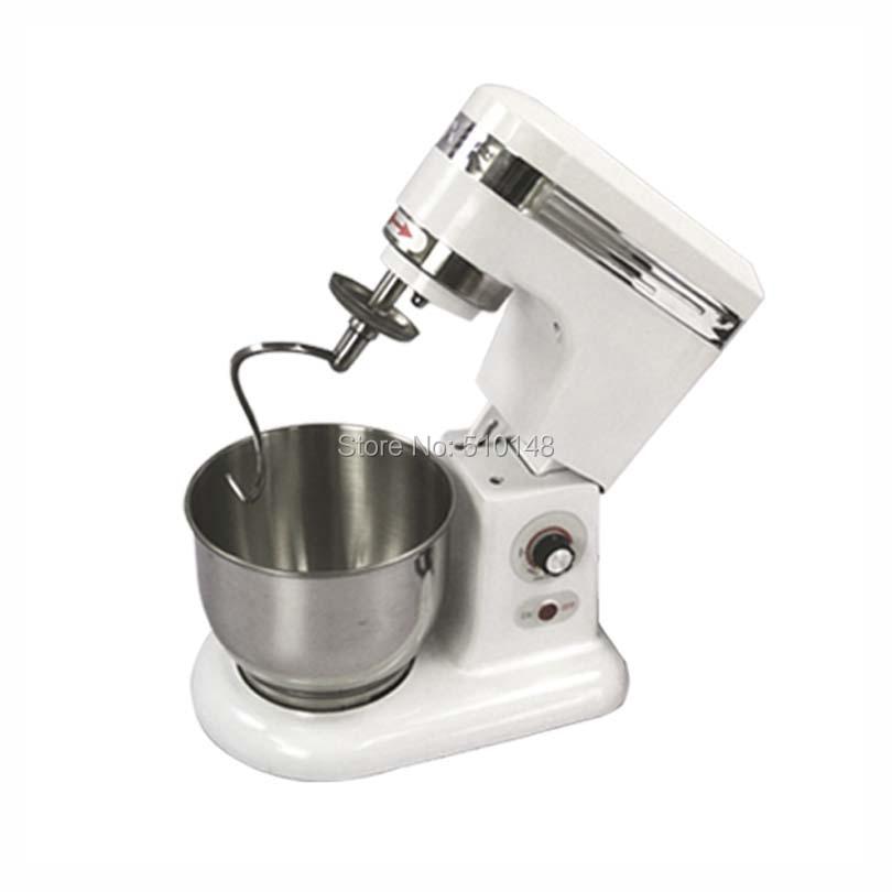 Chef Prosentials B5 / B5L nerūsējošā tērauda 5 litru piena / olu / mīklas maisītāja pārtikas maisītāja mašīnas komerciālais blenderis