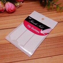 Производители оптом прямые продажи роспись ногтей Французский маникюрные наклейки улыбка маникюрные наклейки натуральный продукт Маникюр N