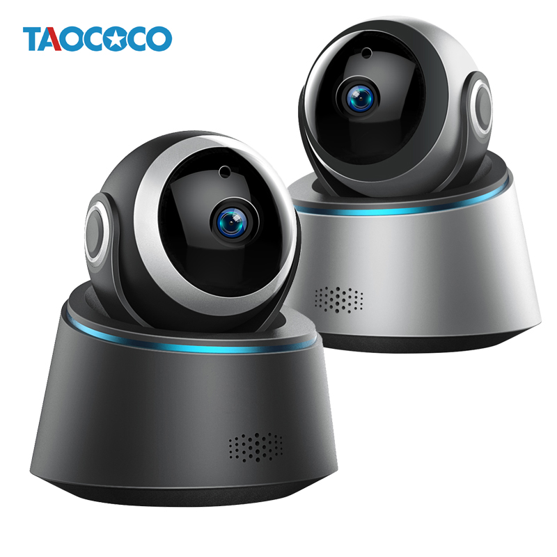 TAOCOCO <font><b>HD</b></font> 1080P IP Kamera WiFi Baby Monitor Sicherheit Kamera Nachtsicht Überwachung Kamera Motion Detection Wireless/Wired image