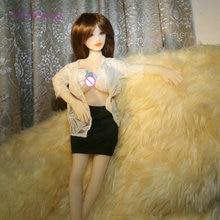 65cm 69cm Intelligent pronunciation vibration Sex Dolls Full TPE with Skeleton Adult sex toy Love Doll Vagina Lifelike