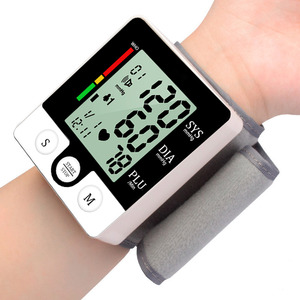 Image 5 - Casa lcd digital pulso sphygmomanômetro presure medidor de sangue monitor freqüência cardíaca pulso portátil tonômetro saúde equipamentos médicos