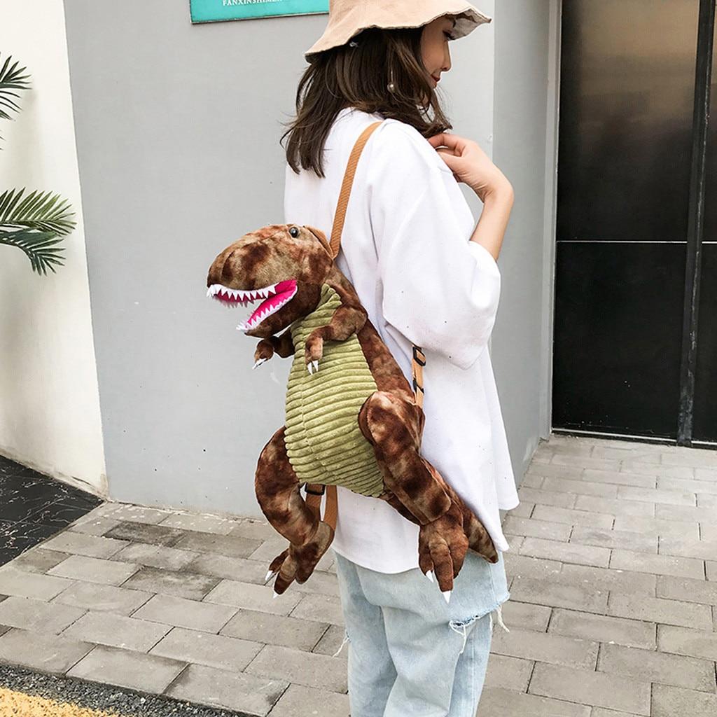 Dinosaur Bag Backpacks Primary-School-Bags Large-Capacity Children for Kids Bolsa Big