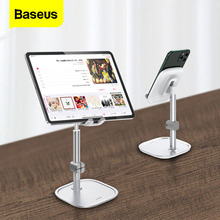Baseus Mobiele Telefoon Houder Voor Iphone 11 Pro 7 8 Ipad Kabel Organizer Verstelbare Desktop Telefoon Stand Voor Samsung Xiaomi huawei