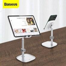 Support pour téléphone Mobile Baseus pour iPhone 11 Pro 7 8 iPad câble organisateur support de téléphone de bureau réglable pour Samsung Xiaomi Huawei