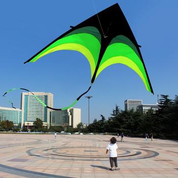160cm Super ogromny linka do latawca Stunt dzieci latawce zabawki latawca latający długi tren zabawy na świeżym powietrzu sport prezenty edukacyjne latawce dla dorosłych tanie i dobre opinie Poliester 5-7 lat 8-11 lat 12-15 lat Dorośli 6 lat 8 lat Unisex Pojedyncze Single Line Stunt Kites No Fire